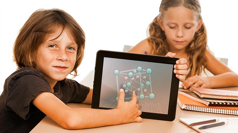 scuola e tablet