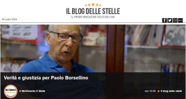 """Salvatore Borsellino: """"Verità e Giustizia, non ho nient'altro da dire"""""""