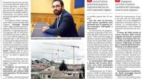 Il malaffare ha bloccato la ripartenza. La mia intervista su Il Centro – Quotidiano d'Abruzzo