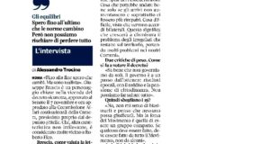 La mia intervista sul decreto sicurezza per il Corriere della Sera
