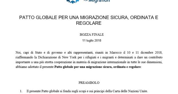 Disponibile online la traduzione in italiano del Global Compact