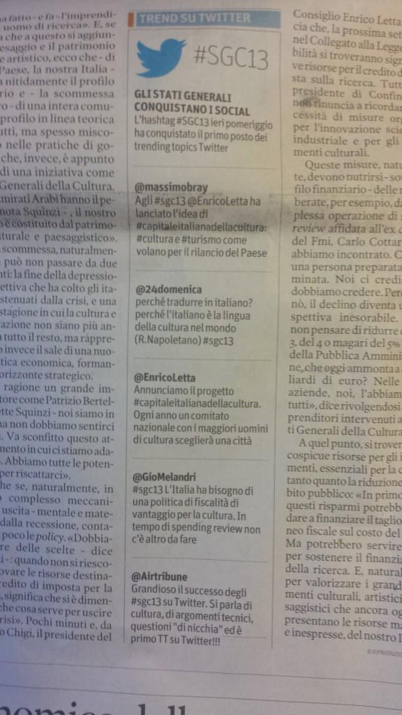 Tweet SGC13